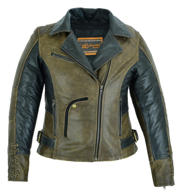 Exclusive Must Ride Two-tone Jacket [50% Off]