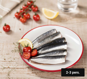 Les filets de Sardines papillon