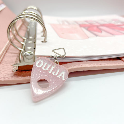 Ouija Planchette - Planner Dangle Clip/Charm