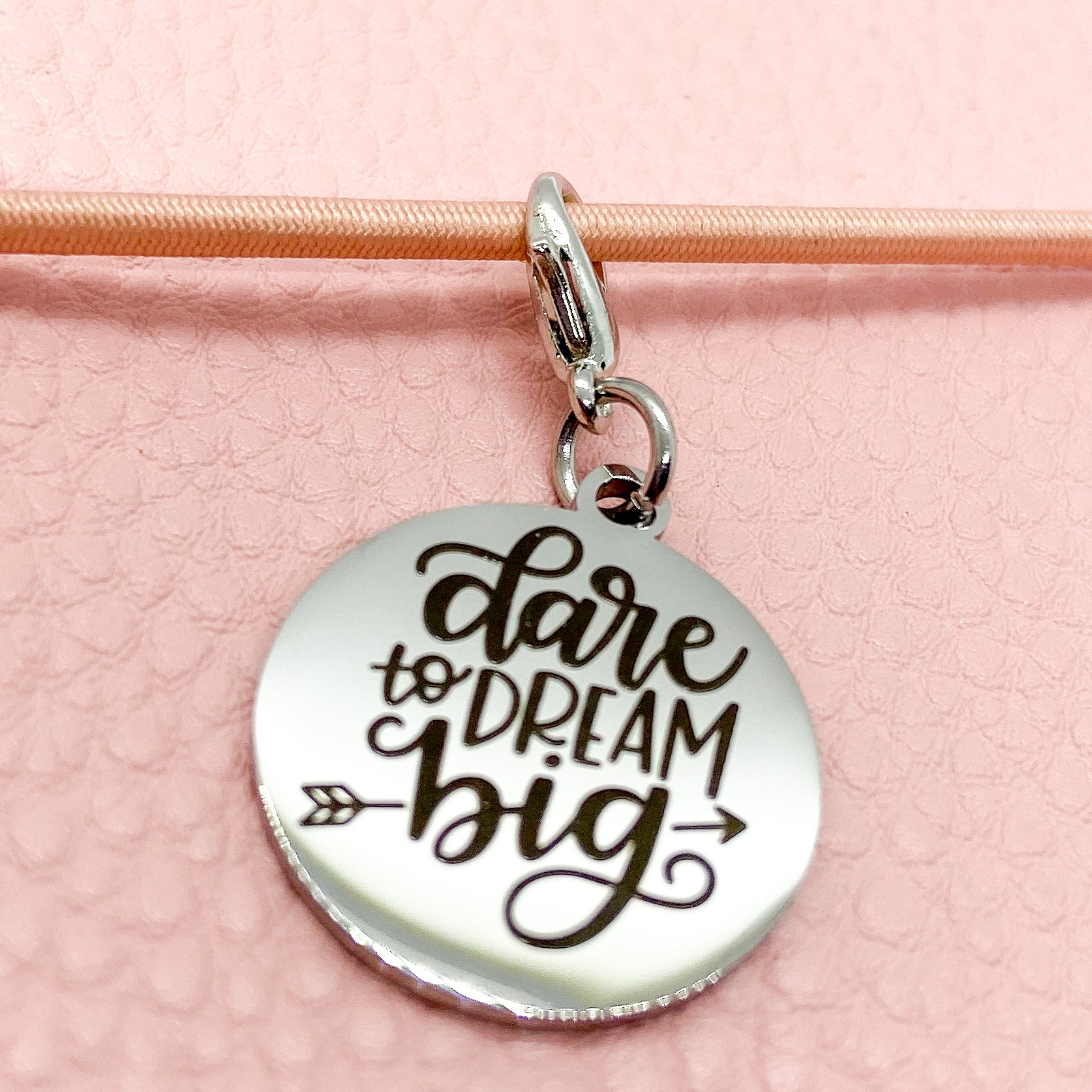 Dare to Dream Big - Planner Dangle Clip/Charm