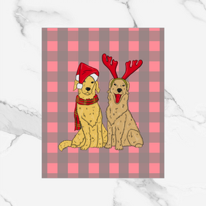 Holiday Pups - Dashboard/Vellum