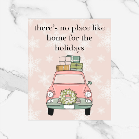 Home for the Holidays - Foiled Dashboard/Vellum