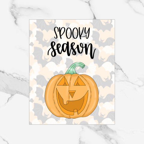 Spooky Season - Foiled Dashboard/Vellum