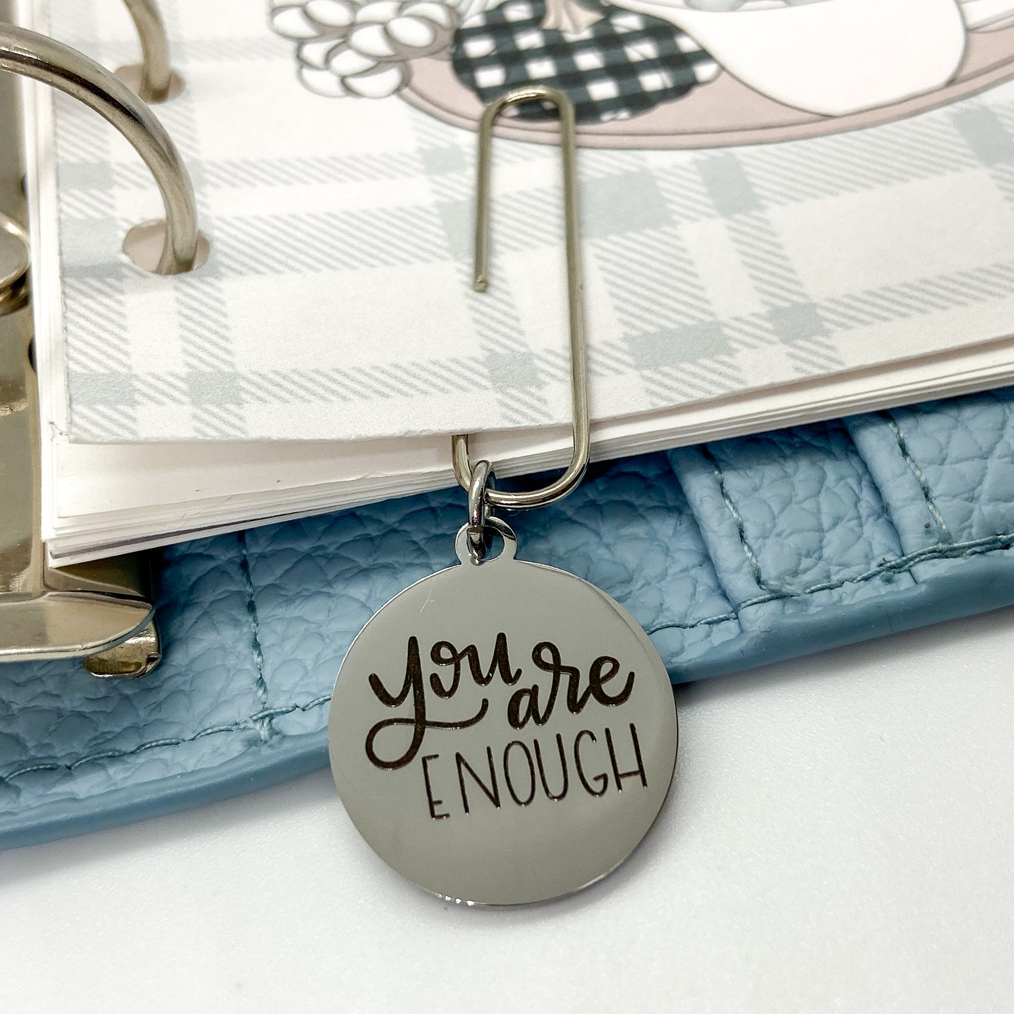 You Are Enough - Planner Dangle Clip/Charm