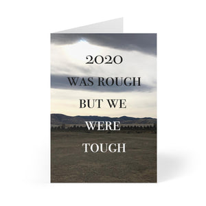 Goodbye 2020 greeting card
