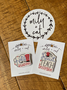 Hats off to Reading & Read Teach & Inspire Badge Buddies