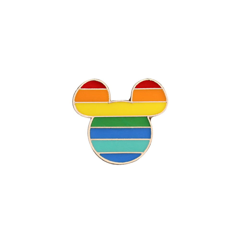 Pins Mickey Arc-En-Ciel
