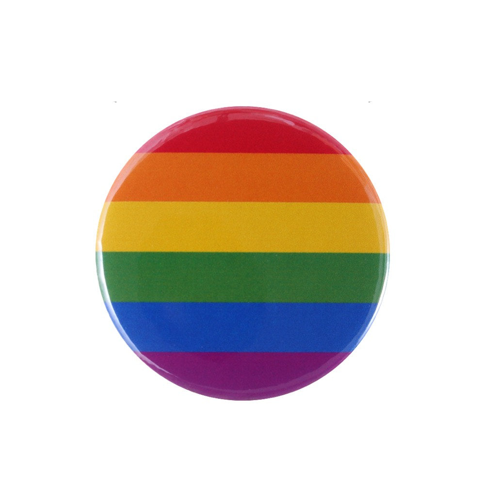 Badge LGBT <br/> Drapeau Arc-en-Ciel