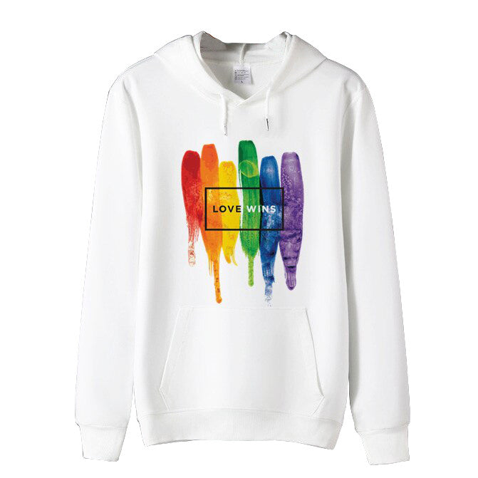 Sweat LGBT <br/> Peinture Love Wins