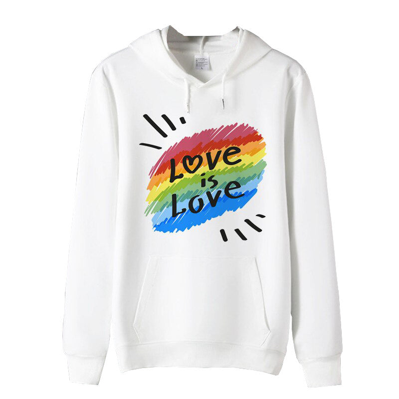 "Sweat LGBT <br/> "" Love is Love """