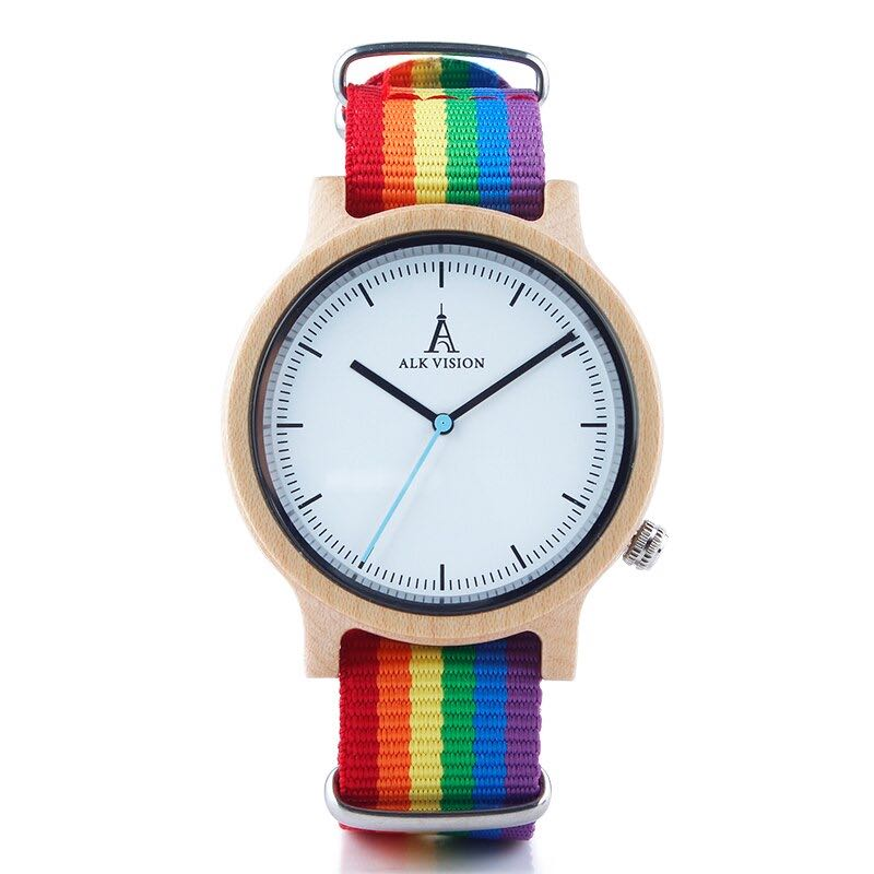 Montre LGBT <br/> Wood Pride