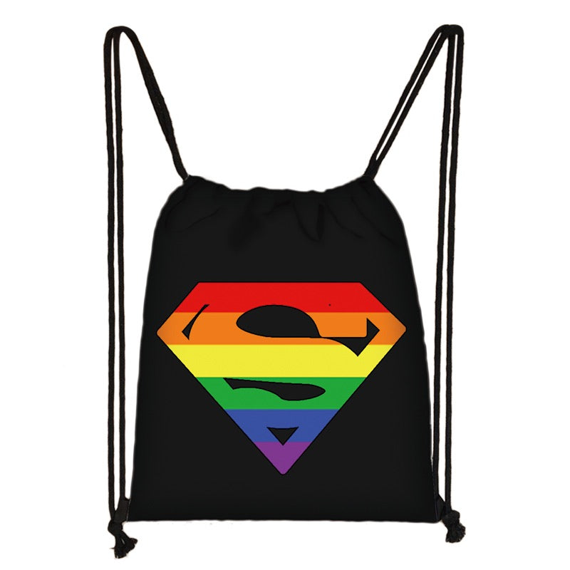 Sac de Gym <br/> Superman LGBT