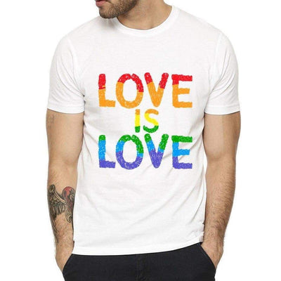 T-shirt Gay Love is Love
