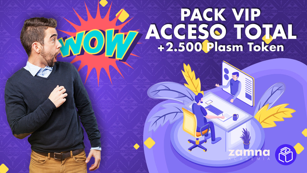 Pack VIP Acceso Total + 2500 Plasm Token