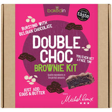 Load image into Gallery viewer, Double Chocolate Brownie Kit