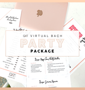 Virtual Bachelorette Package