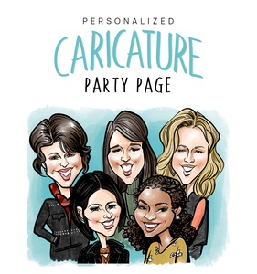 Personalized Caricature Portraits