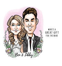 Load image into Gallery viewer, Personalized Caricature Portraits