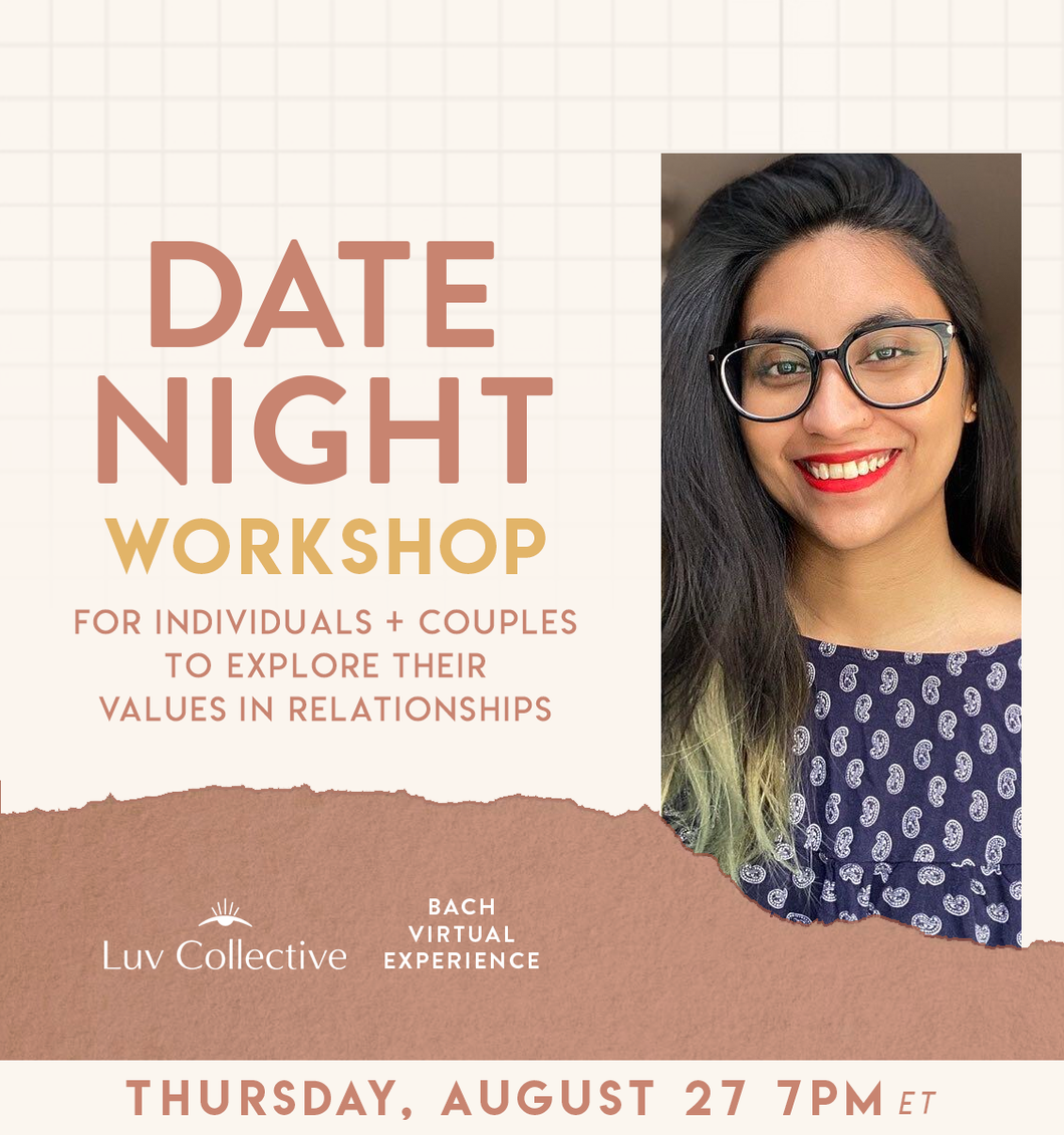 Date Night: A Workshop to Explore Values in Relationships