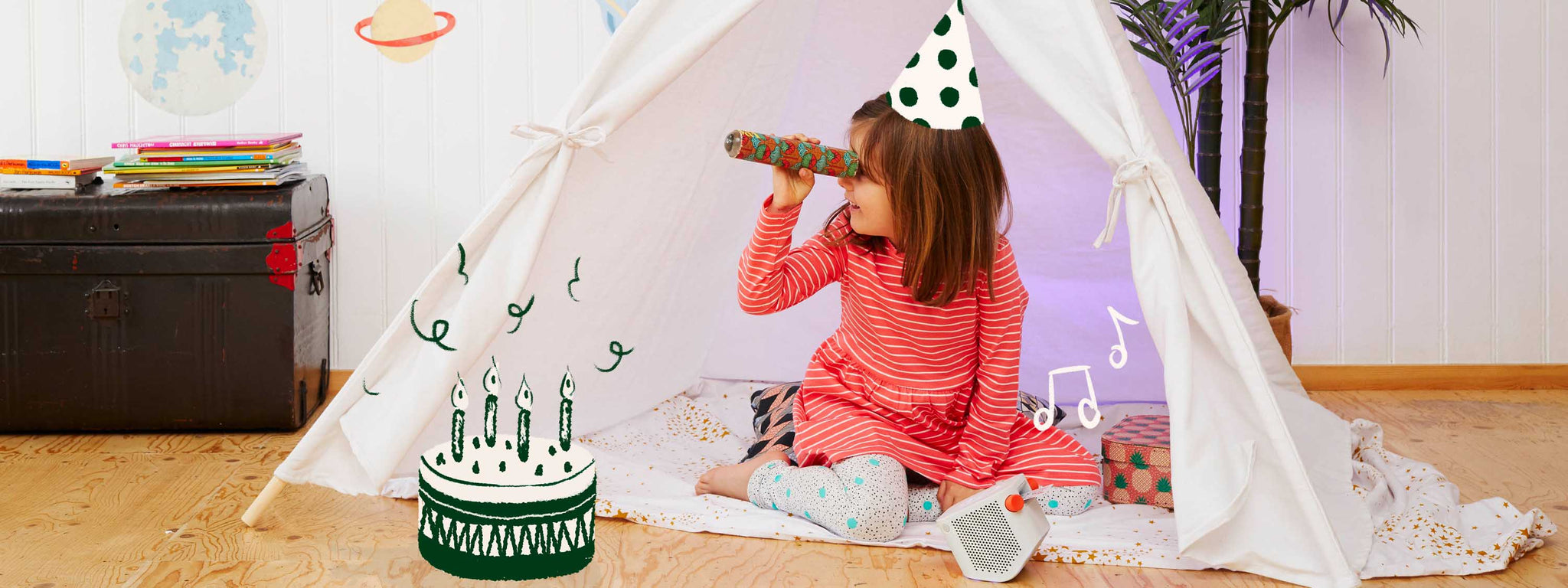 How to throw your child a birthday party at home