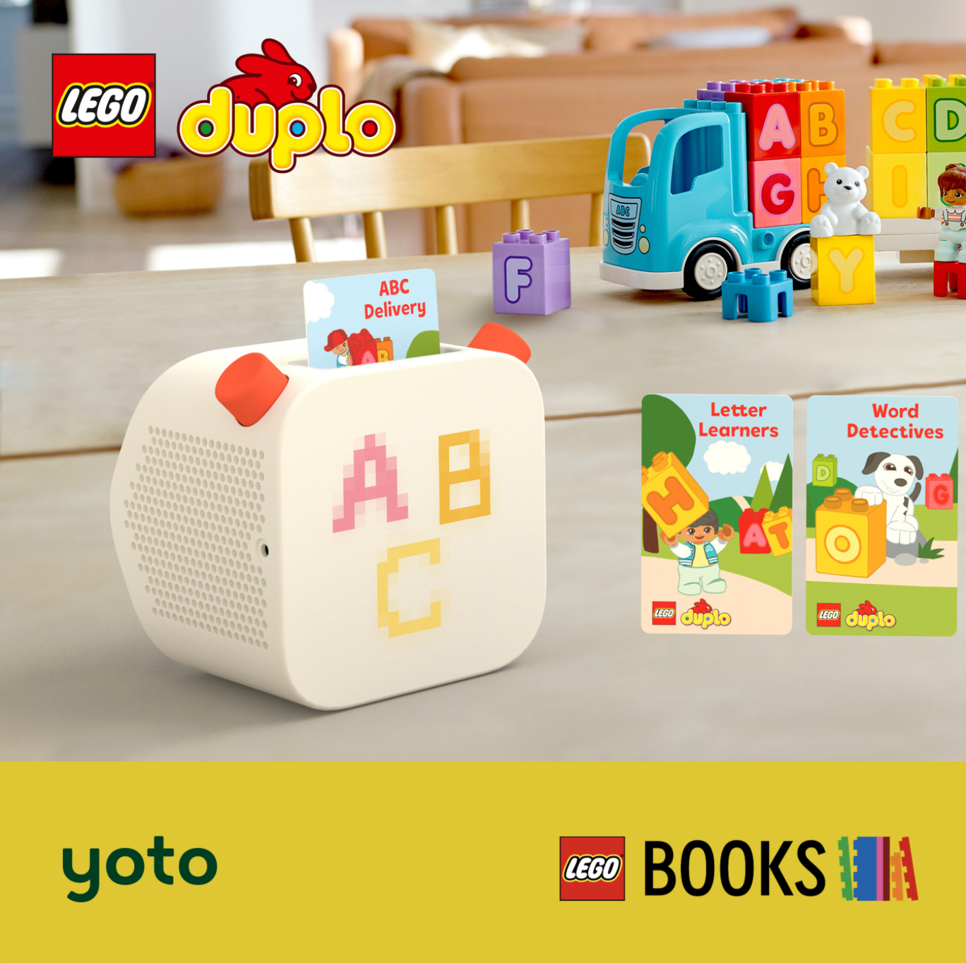 Yoto Announces Partnership with AMEET <br>in New LEGO Books® Audio Deal