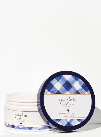 Bath & Body Work Gingham Whipped Body Butter