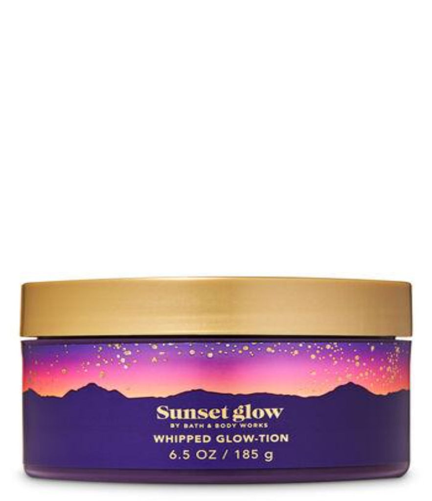 Bath & Body Work Sunset Glow Whipped Glow-Tion