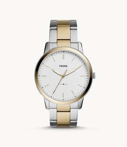 Fossil The Minimalist Three-Hand Two-Tone Stainless Steel FS5441