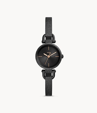 FOSSIL Georgia Black Stainless Steel ES4480