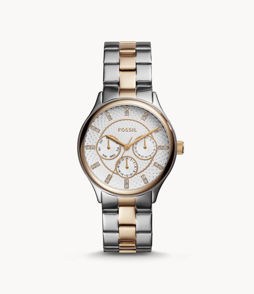 Fossil Modern Sophisticate Multifunction Two-Tone Stainless Steel BQ1564