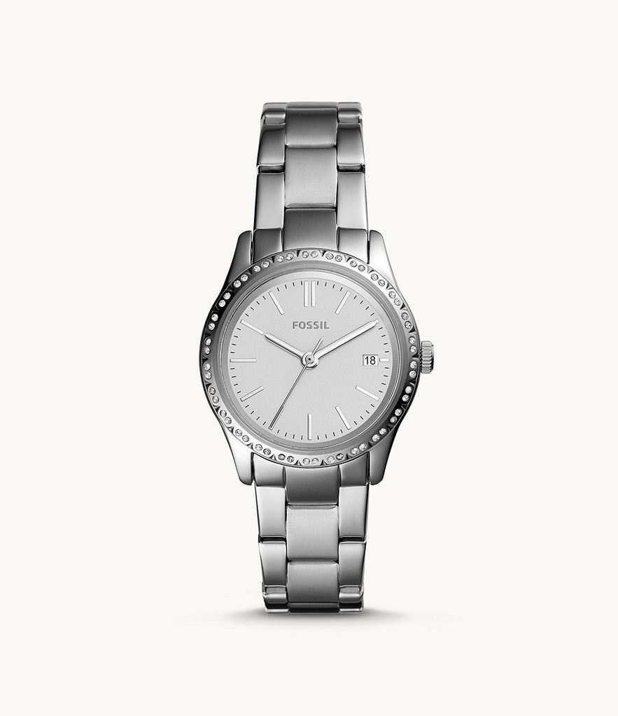 Fossil Adalyn Three-Hand Stainless Steel BQ3373