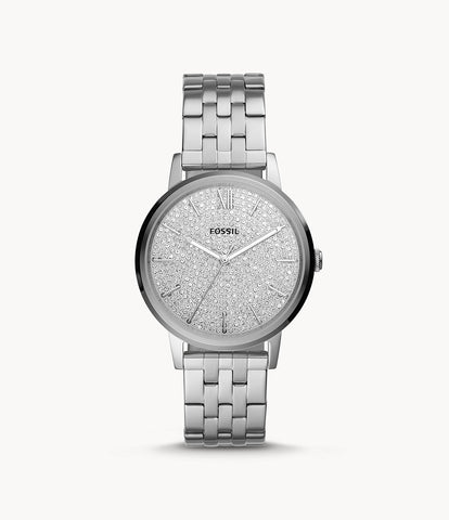 Fossil Cambry Three-Hand Stainless Steel Watch BQ3554