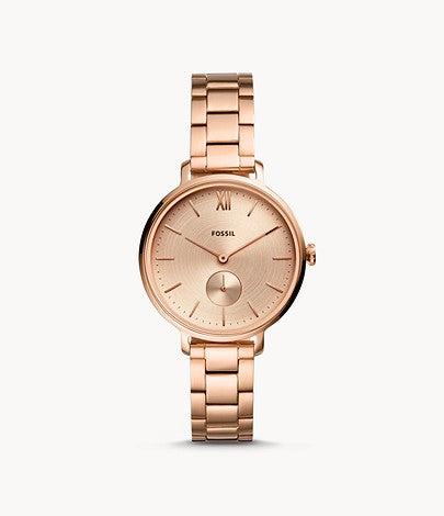 Fossil Kayla Rose Gold-Tone Stainless Steel Watch ES4571