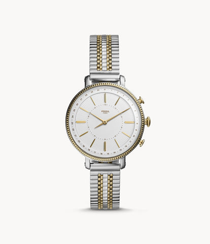 Fossil Hybrid Smartwatch Cameron Gold and Silver FTW5057