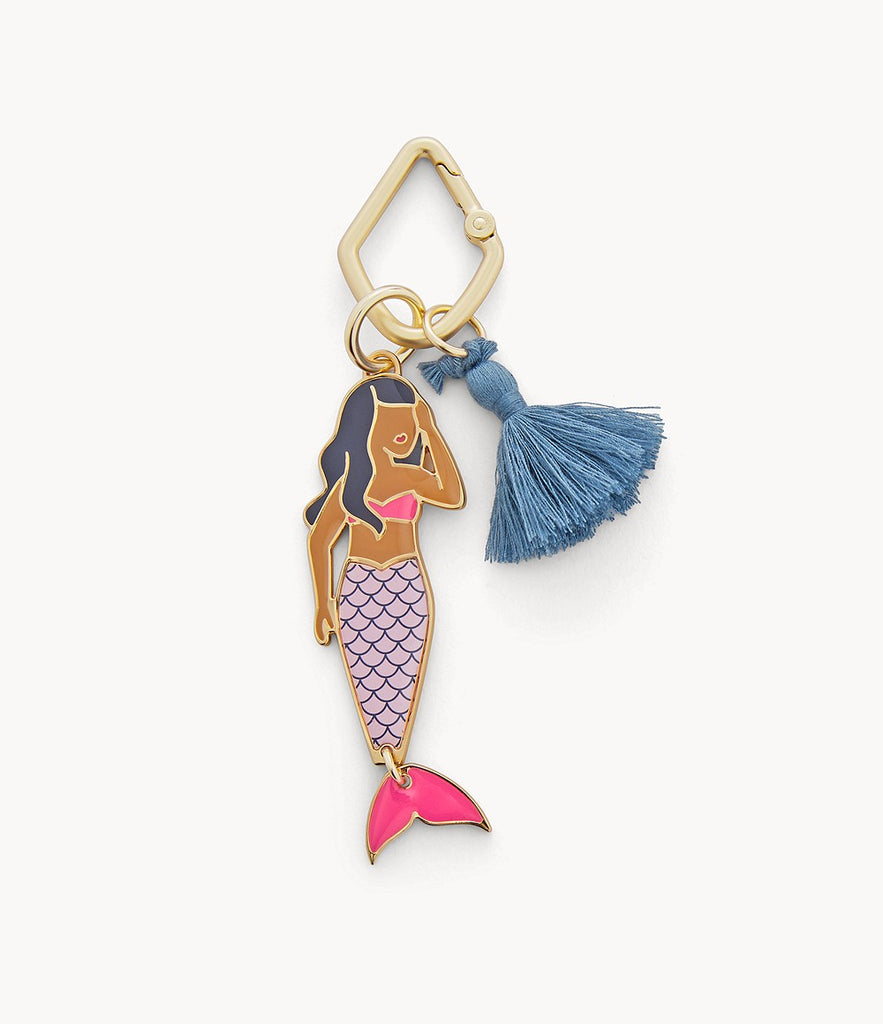Fossil Mermaid Keyfob Gold SLG1158710