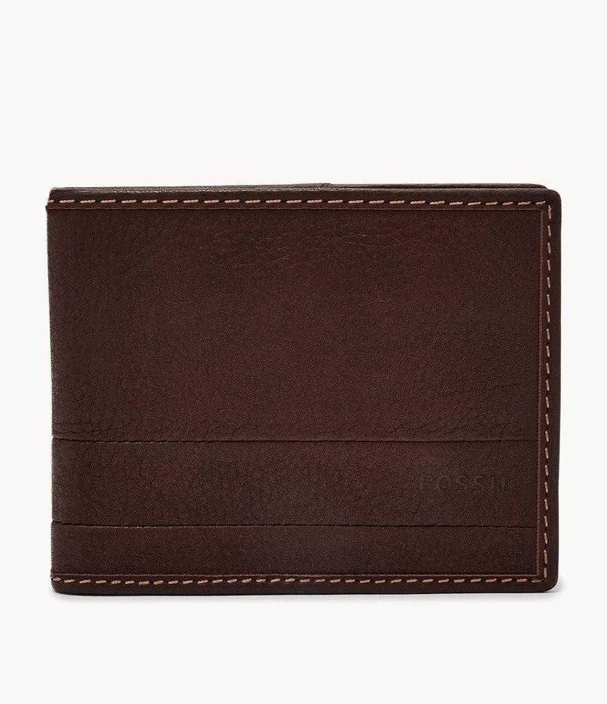 Fossil Lufkin Bifold Dark Brown SML1392201