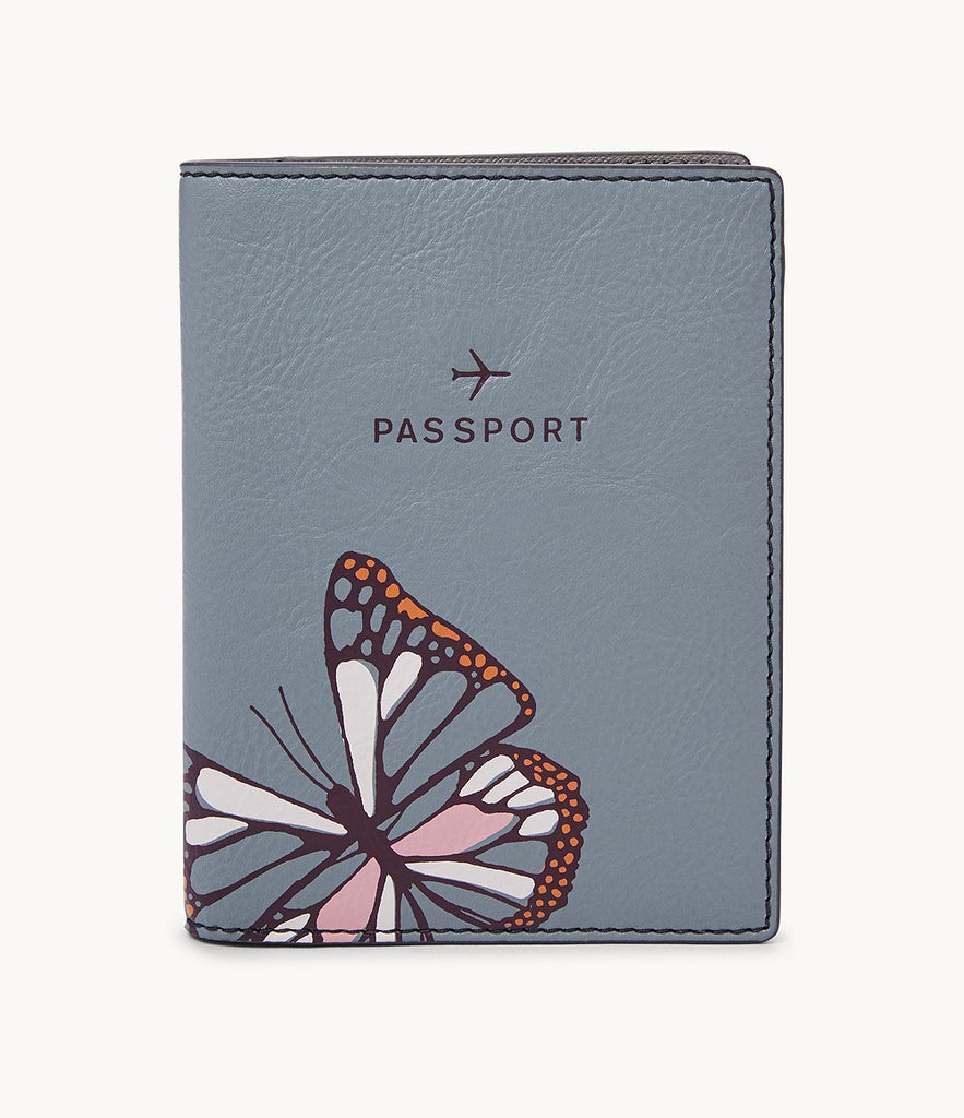 Fossil Sofia Passport Case in Butterfly