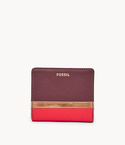 Fossil Madison Bifold in Bronze Multi