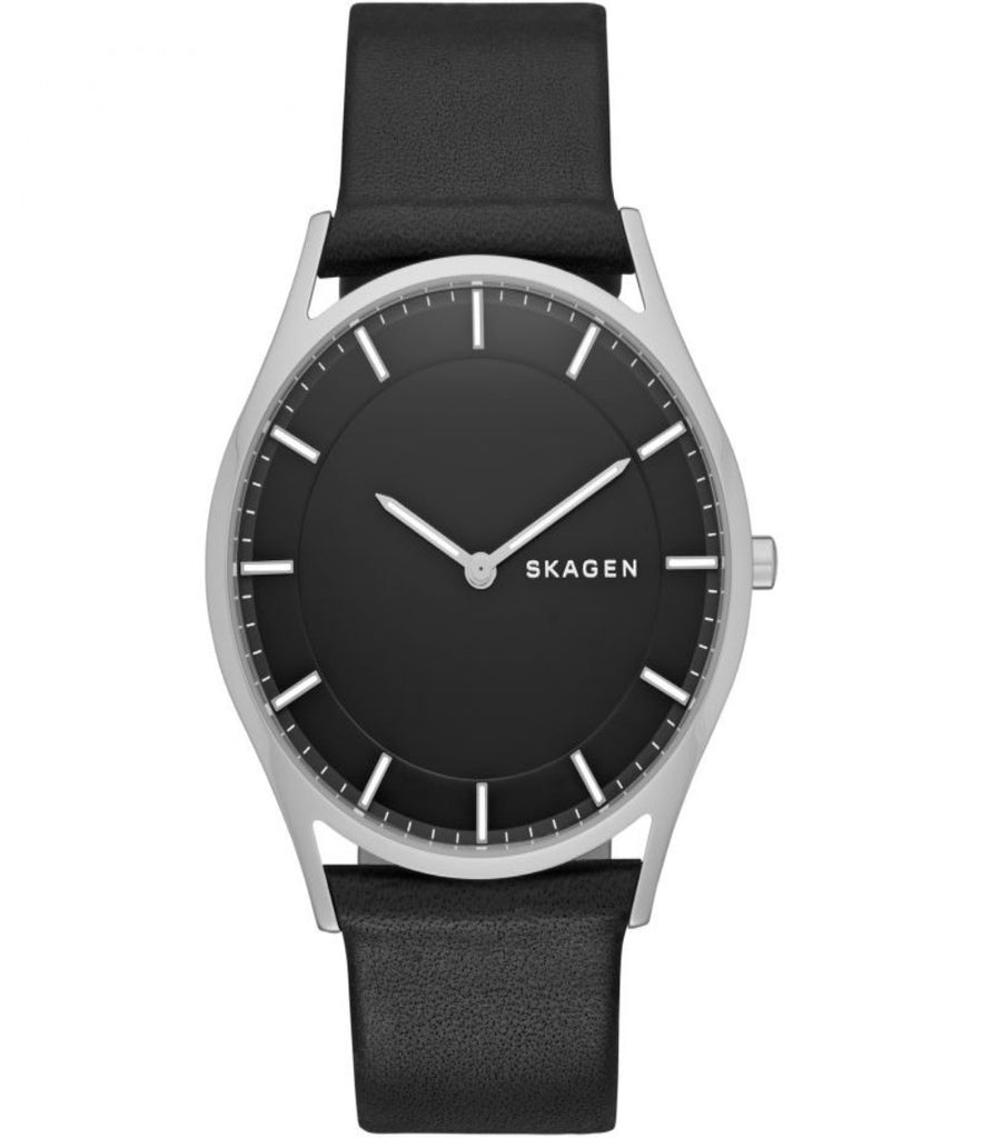 (Clearance) Skagen Holst Slim Leather Watch SKW6220