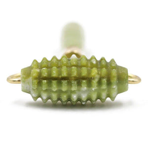 Spiked Jade Stone Roller
