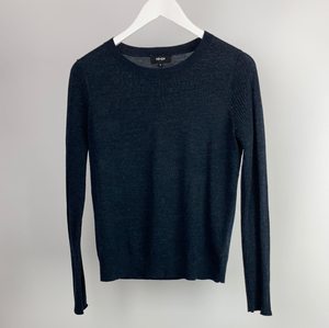 Me+em navy fine merino wool jumper size Uk10