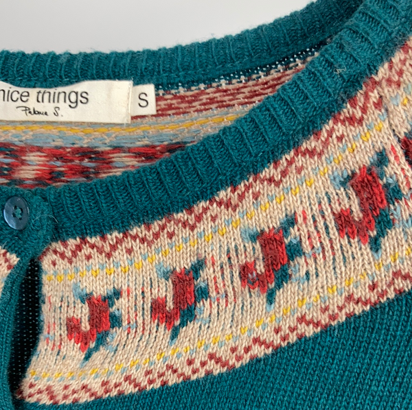 Nice things wool mix cardigan size s