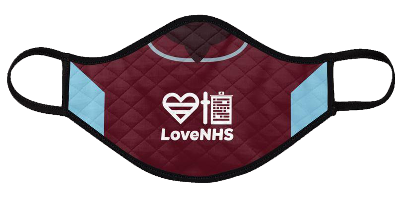 burnley 2020-21 shirt mask