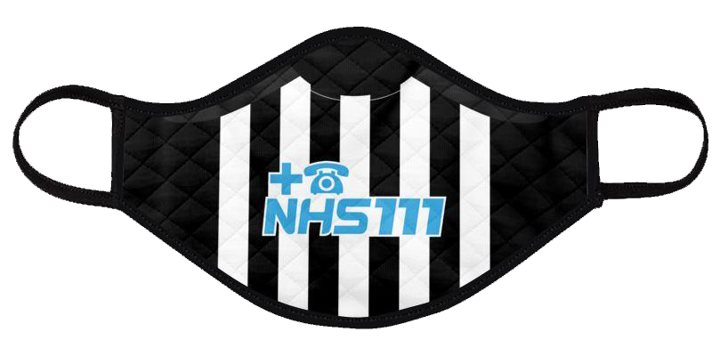 newcastle united 2020-21 shirt mask