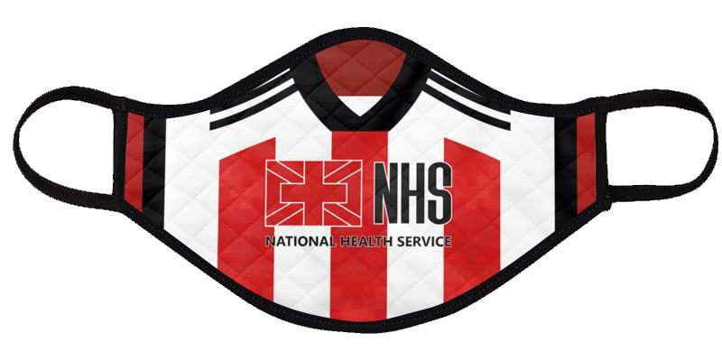 sheffield united 2020-21 shirt mask