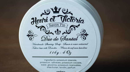 What's In Our Shaving Soap (and Why)?