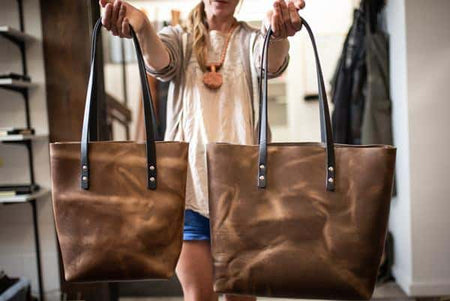How Much Can You Actually Fit in Your Popov Leather Tote Bag?