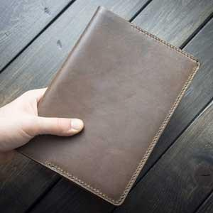 Leather A5 Cover