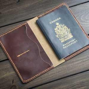 Passport Covers Made from Leather