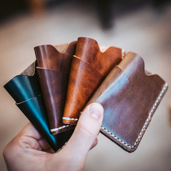 Colours of Horween Leather
